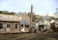 Rossland 1895 - Colourized Photograph